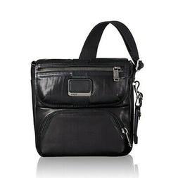 NWT Tumi Alpha Bravo Barton Leather Crossbody Messenger Bag