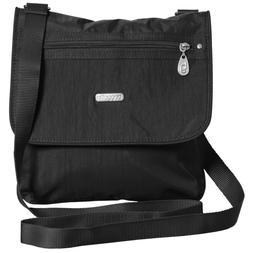 NWT Baggallini Black Medium Crossbody Shoulder Bag $78. MSRP