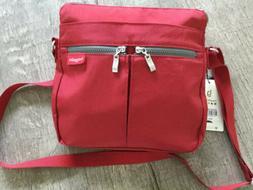 NWT Baggallini Comrade Crossbody Red Organizer Travel Bag