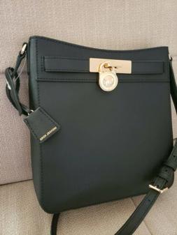 NWT Michael Kors Hamilton Traveler Saffiano Leather Messenge