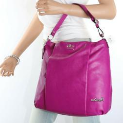 🌺🌺NWT Coach Madison Leather Isabelle Shoulder Bag Cros