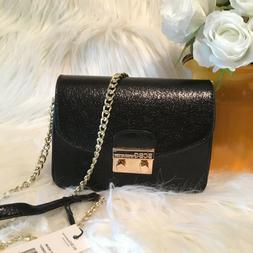 NWT BCBGeneration Milly Quilted Patent Leather Crossbody Bag