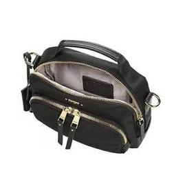 NWT TUMI VOYAGEUR CROSSBODY BAG WOMEN'S  BLACK SIZE 20X15X7
