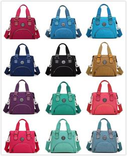 Nylon Crossbody Bags for Women with Pockets