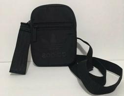 adidas Originals Festival Crossbody Bag All Black Side Bag N