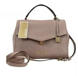 pebble leather bristol satchel crossbody handbag bag