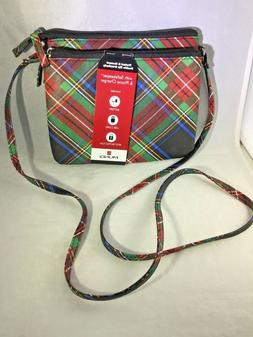 MUNDI Protect & Connect Double Zip Crossbody Bag RFID + Phon