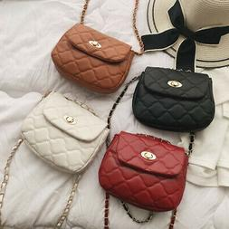 Pu Leather Crossbody Bags For Women Small Handbag Chain Shou