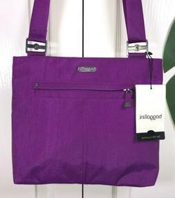 Baggallini Purple All Around Large Crossbody Bag NEW Zip Top
