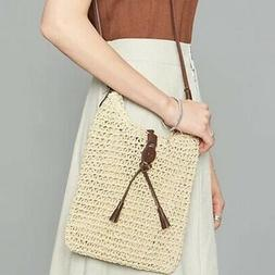 Purse Bag Summer Beach Vacation Crossbody Bag With Leather B