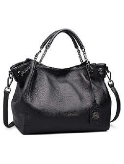 Purse Genuine Leather Handbag Crossbody Bags Chain Bag Large
