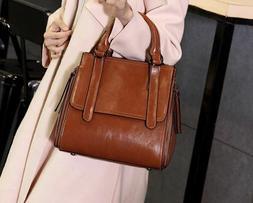 Real Genuine Leather Handbag & Crossbody Designer Bag For Wo