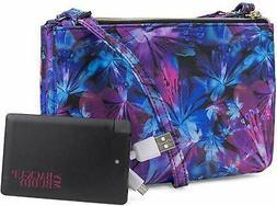 Mundi RFID Blocking Womens Crossbody Bag Purse Wallet w/Bonu