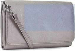 Mundi RFID Crossbody Bag/Wallet for Women, Adjustable Strap