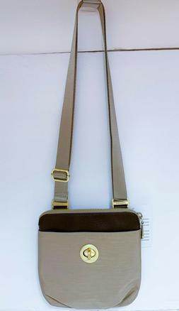BAGGALLINI RFID Mini Hanover Crossbody Bag ~ UNIQUE Leather-