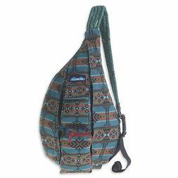 KAVU Rope Bag Crossbody Sling Backpack Cotton Travel Purse -