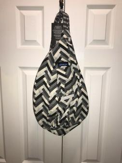 KAVU Rope Bag Sling Crossbody Backpack Travel Cotton Purse -