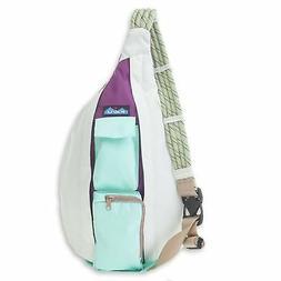 KAVU Rope Sling Bag Polyester Crossbody Shoulder Hiking Back