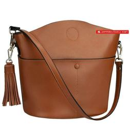 S-Zone Women'S Small Cowhide Genuine Leather Crossbody Bag S