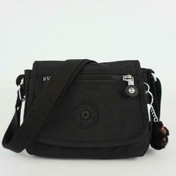 KIPLING SABIAN Mini Shoulder Crossbody Bag Black Tonal