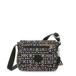Kipling Sabian Printed Crossbody Mini Bag Floral Mozzaik