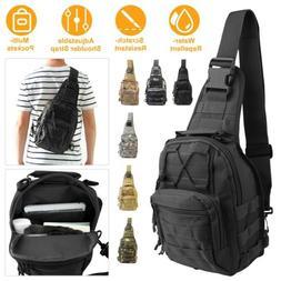 Shoulder Military Tactical Crossbody Backpack Army Travel Hi