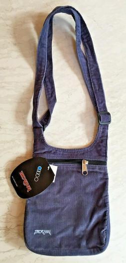 JanSport Single Strap Shoulder Black Crossbody Bag Adjustabl