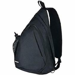 Sling Bag - Crossbody Shoulder Backpack With Water Bottle Ho