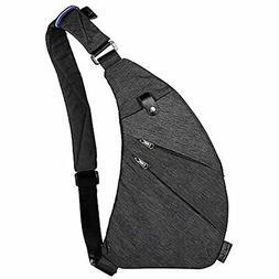 TOPNICE Sling Back Pack Shoulder Chest Crossbody Bags Lightw