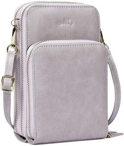 Cluci Small Crossbody Bag For Women Leather Cellphone Should