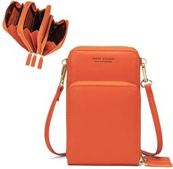 small crossbody cellphone shoulder bags for women
