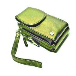 Small Travelon Crossbody Mini Bag Leather Travel Purse Organ