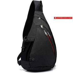 Kaka Small Sling Bag, Crossbody Backpack Canvas Waterproof D