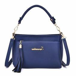 Soperwillton Crossbody Bags for Women Fashion Tassel Purse a