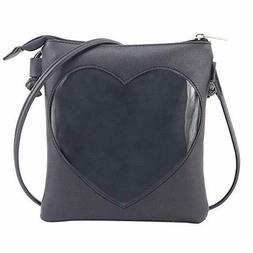 NIVICHKA Ita Bag Heart Crossbody Bags for Women Girls Small