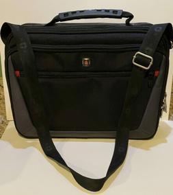 Swiss Gear by Wenger Black Computer Case - Laptop Bag - Cros