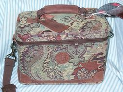 Tapestry Cross Body Carry On Travel Bag Pageants Boho Train
