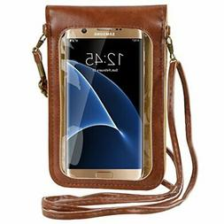 Touch Screen Small Women Crossbody Bag Cell Phone Purse Wall