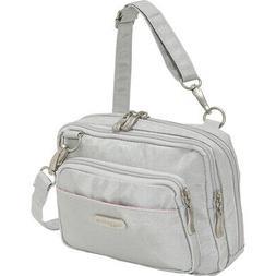 baggallini Triple Zip Crossbody 23 Colors Cross-Body Bag NEW