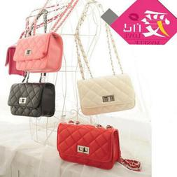 US Stock Women Small Crossbody Quilted Purse Bag Handbag Cha