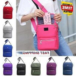 US Women Casual Nylon Crossbody Shoulder Bag Travel Handbag