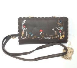 Alyssa Vegan Leather Lead Free Shoulder Crossbody Bag Handba