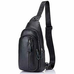 Vintage Luggage & Travel Gear Leather Sling Bag Crossbody Ba