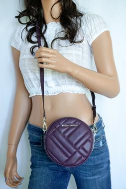 MICHAEL KORS VIVIANNE CANTEEN CROSSBODY QUILTED LEATHER BAG