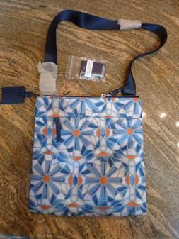 Tumi Voyageur Calera Crossbody Bag,Travel Shoulder Purse,Blu