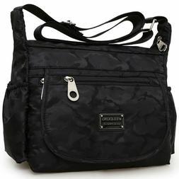 Waterproof Single-shoulder Messenger Crossbody Bag Nylon Pur