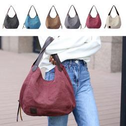 Woman Canvas Bags Big Shoulder Bag Messenger Crossbody Shopp