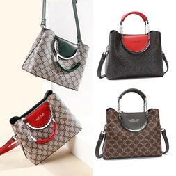 Woman Purses Fashion Shoulder Handbags Small PU Top Handle S