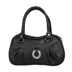 Women Bag For Phone & Cosmetic Black High Quality PU Leather