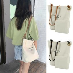 Women Bag Girl Canvas Shoulder Crossbody Bag Handbag Casual